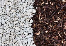 landscaping supplies, bulk loads, bark, stones, soils